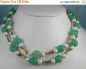 Coro Necklace, Lucite, Retro Vintage Jewelry, Gift for Her SUMMER SALE