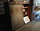 Vintage A-Frame Shelving Unit