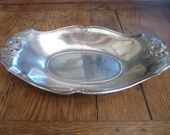 Art Nouveau Christofle Gallia Centerpiece Tray or Serving Dish Silver French Elegance