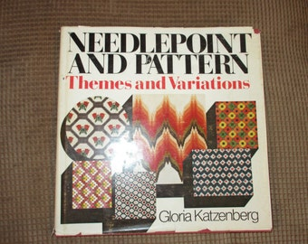 Vintage Needlepoint and Pattern Themes and Variations Book (1974)