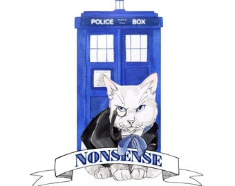 Doctor Mew: Doctor Who Cats, Classic Series Doctor 1-5