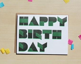 Happy Birthday, Tech/Block type