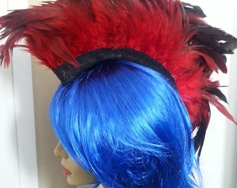 Custom Feather Mohawk: You Choose Color
