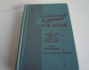 Vintage Prudence Penny Regional Cookbook 1950s