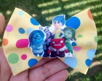 SALE Inside out hair bow