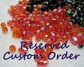 Reserved Custom Order for Jenny