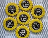 Sunflower Sugar Cookies - 1 Dozen