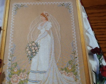 C - BLUSHING BRIDE - Cross Stitch Pattern Only