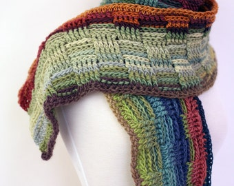 Autumn - Cozy Warm Merino Handmade Crochet Scarf