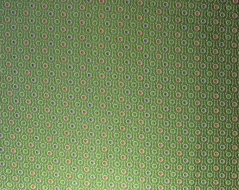 green upholstery fabric by the yard circles gold and green fabric heavy fabric wide fabric 1 yard plus uf1193
