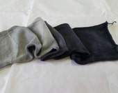Saturated Sock Blank Gray Gradient