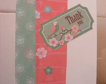 Give an Oriental inspired 'Thank You' card