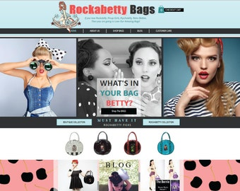 Custom Ecommerce Website Package