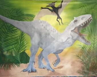 Dinosaur Decor, Dinosaur Mural, Dinosaur Room Decor, Dinosaur Theme Party, Jurrasic Decor, Dinosaur Mural, Dino Decor, Boys Room Decor, Dino