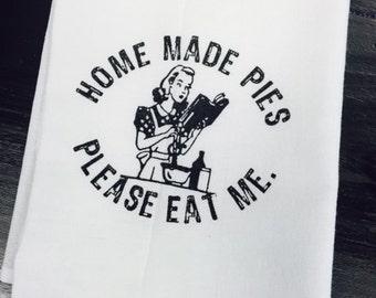 Homeade Pies, Please Eat Me TOWEL