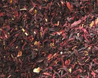 Hibiscus Flowers, Dried Flowers, Herbal Tea, Hibiscus sabdariffa