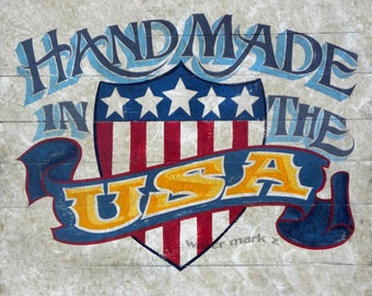 Handmade in USA   Print