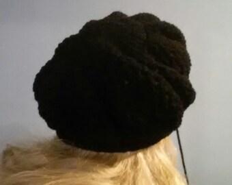 Black Slouch Cap