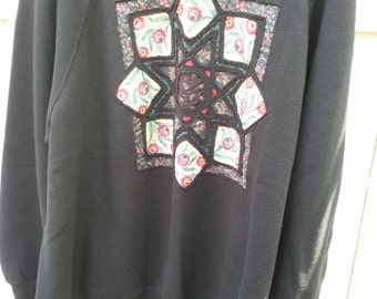 Vintage Hand Decorated Sweatshirt