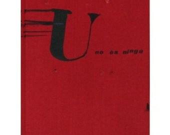 Brossa & Tapies: U No Es Ningu - SIGNED (1979) Book sku BK7077