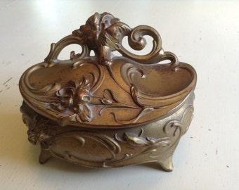 Art Nouveau Jewelry Casket