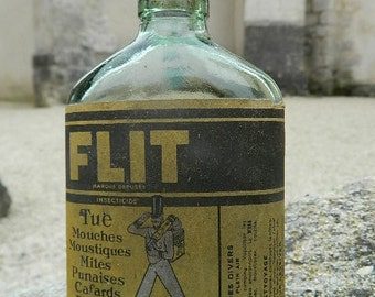 "Old bottle ""FLIT Tue fly, mosquito"