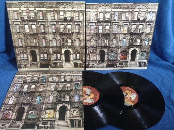 Rare Vintage Led Zeppelin Physical Graffiti