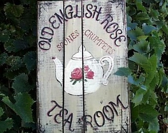 Tea Room Sign--Customize It