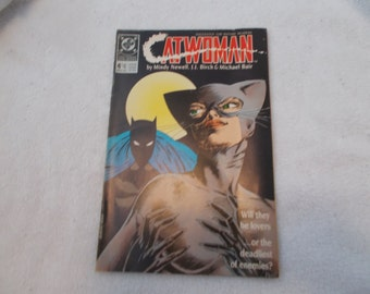 Vintage Comic Book- Catwoman No 4-May 1989