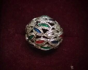 Vintage Bauble Ring, Adjustable