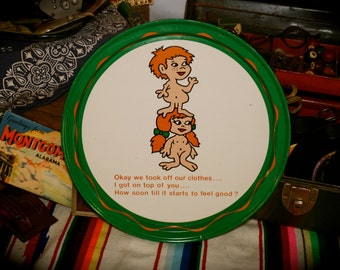 Vintage Novelty Tin Tray