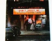 Elton John - Don't Shoot Me I'm Only The Piano Player with booklet - MCA Records Original Release 1972 - Vintage Gatefold Vinyl LP Record