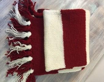 Custom Colors Knit Scarf