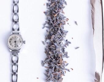 Vintage URSS Women Watch, Chaika Watch, 17 Jewels Watch, Mechanical Watch