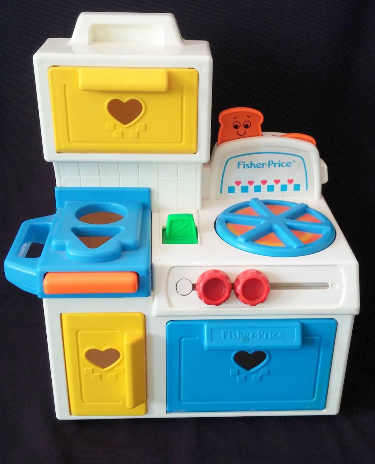 Vintage 1990 Fisher Price Play Kitchen Toy By Lambfoundation