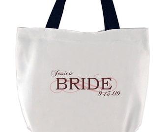 Customized Bride Tote Bag
