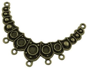 1pc antique bronze finish chandelier component-7117c