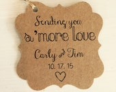50 Sending You S'more Love Tags