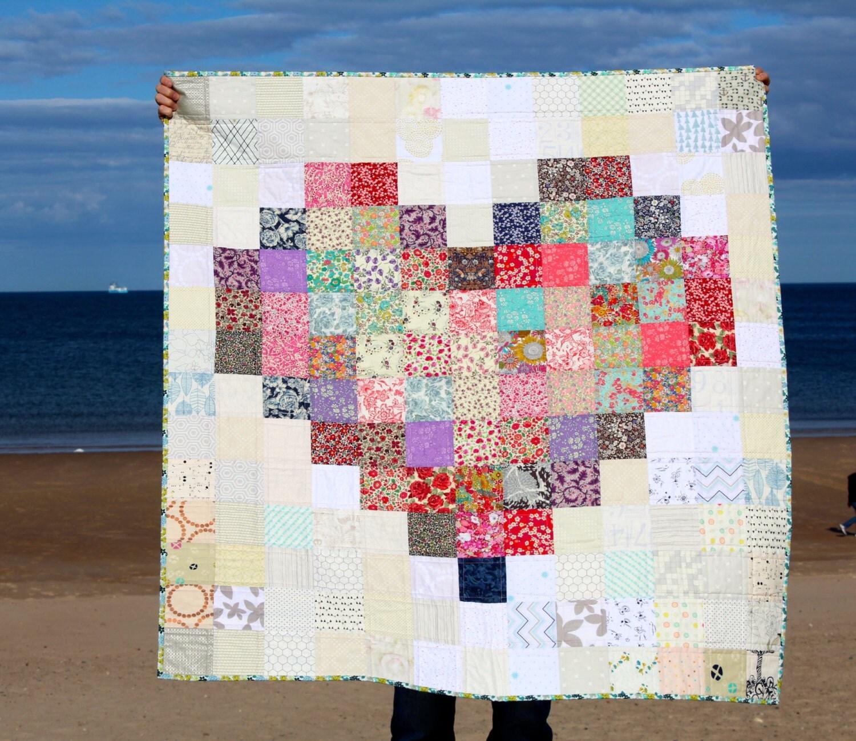 Custom Made Quilt Patchwork Quilt Handmade To Order Heart