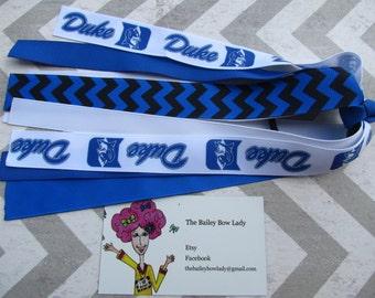 Duke Ponytail Streamer