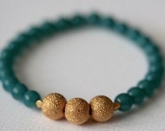 Deep Blue Sea Stretch Bracelet