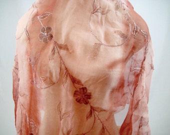 Liquidation-Silk beaded fabric C17-086