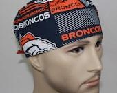 Men's Surgical Scrub Cap Broncos 61168
