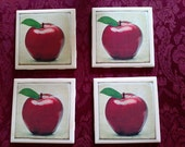 Apple Lover's Coaster set