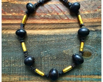 Handmade, ONE OF A KIND tribal necklace