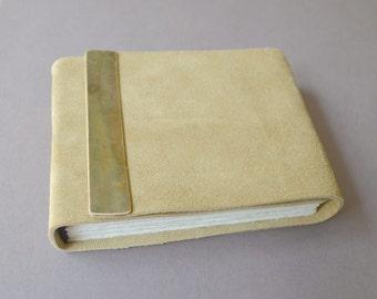 Custom Order Leather Pocket Journal Handmade Bound Diary Back Pack Notebook (400F)