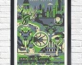 Harry Potter - 2 - The Chamber of Secrets - 17x11 Poster