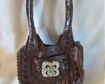 Leather Purse for Barbie