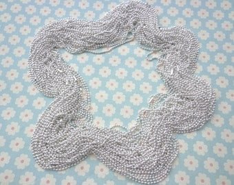 100 pcs Silver Ball Chain Necklaces - 18 inch, 2.0mm