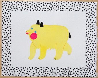 Polka Dot Bear